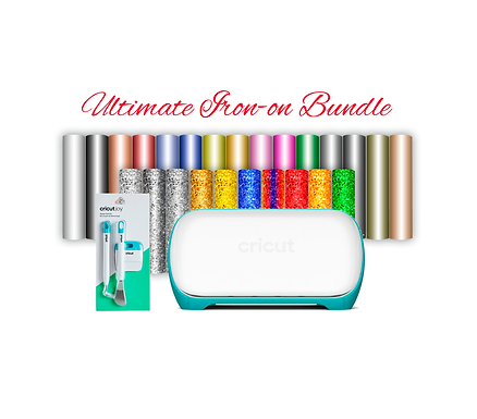 Cricut Joy™ With Tools & Ultimate Iron-on Bundle