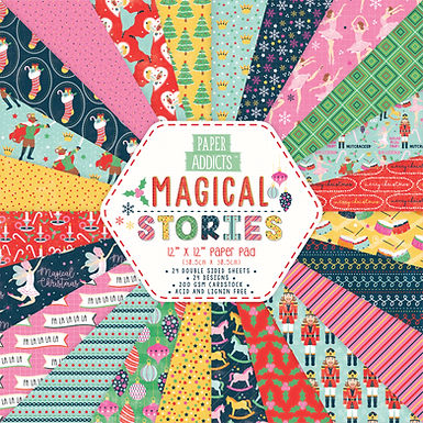"12"" x 12"" Magical Stories Paper Pad"