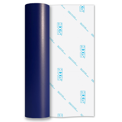 Royal Blue Standard Removable Matt Self Adhesive Vinyl