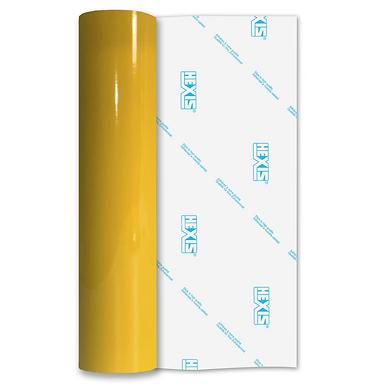 Daffodil Yellow Balloon Vinyl Satin Self Adhesive Vinyl