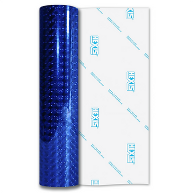 Blue Fantasy Bubbles Gloss Self Adhesive Vinyl