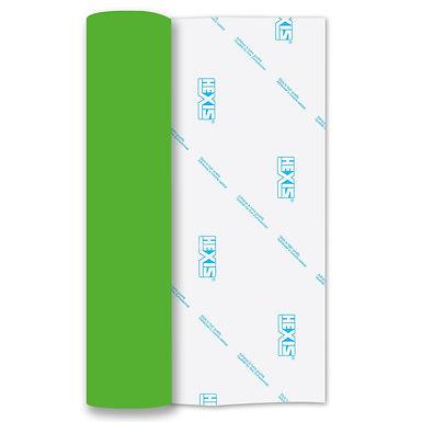 Neon Green RAPIDFLEX Heat Transfer Flex 500mm Wide x 1m Long