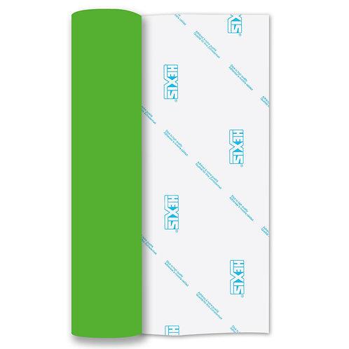 Neon Green Heat Transfer Flex 140mm Wide x 500mm Long
