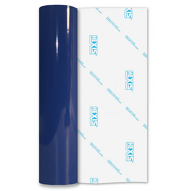 Adriatic Blue Premium Permanent Gloss Self Adhesive Vinyl