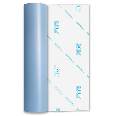 Sky Blue Standard Permanent Matt Self Adhesive Vinyl