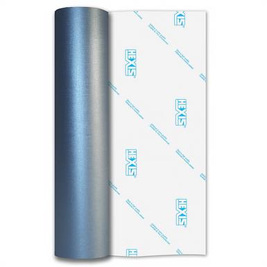 Sky Blue Linen Self Adhesive Vinyl