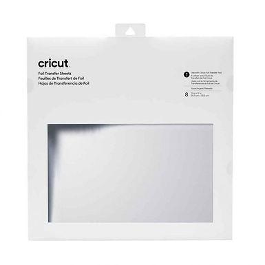 Cricut Silver Foil Transfer Sheets 30cm x 30cm x 8