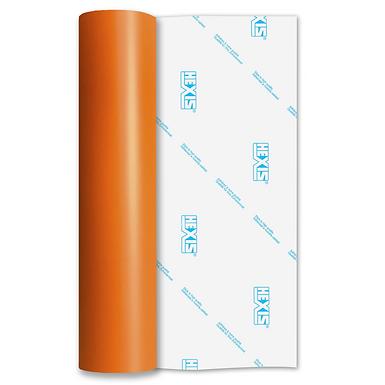 Orange Standard Permanent Matt Self Adhesive Vinyl