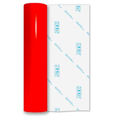 Neon Dark Red Gloss Self Adhesive Vinyl