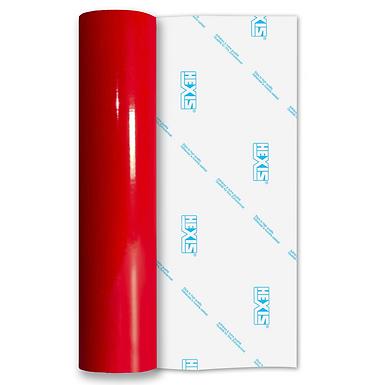 Scarlet Red Standard Permanent Gloss Self Adhesive Vinyl