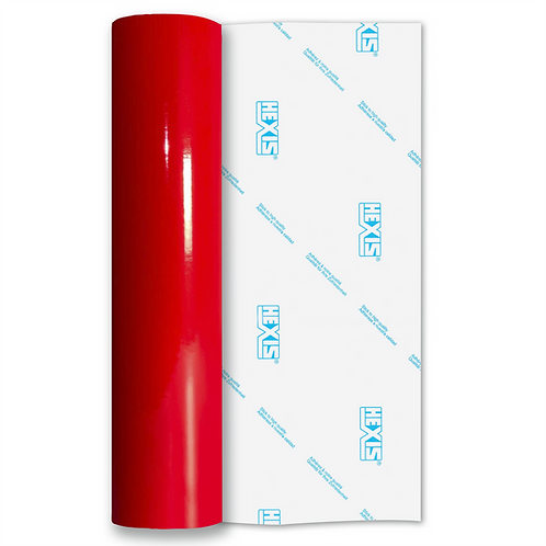 Scarlet Red Standard Permanent Gloss Self Adhesive Vinyl