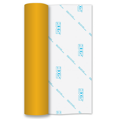 Medium Yellow RAPIDFLEX Heat Transfer Flex 500mm Wide x 1m Long