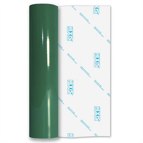 Emerald Green Standard Permanent Gloss Self Adhesive Vinyl