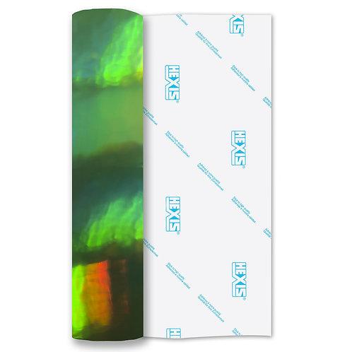 Fluorescent Yellow Rainbow Polish Self Adhesive Vinyl 305mm x 610mm