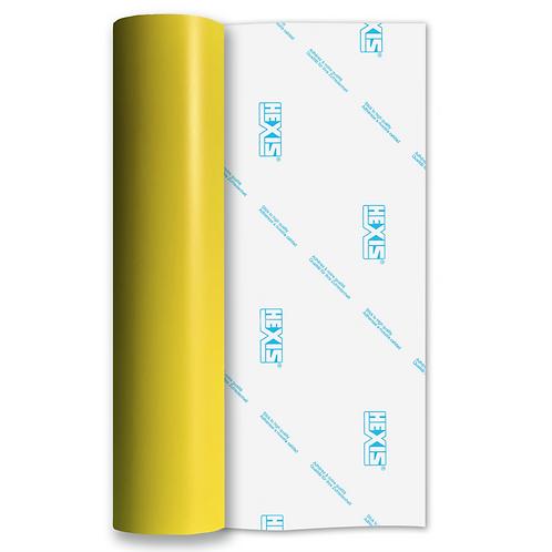 Lemon Yellow Standard Removable Matt Self Adhesive Vinyl