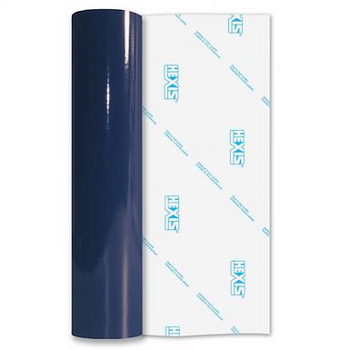 Night Blue Economy Permanent Gloss Self Adhesive Vinyl