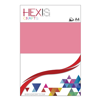 Baby Pink Heat Transfer Flex Sheets x 6