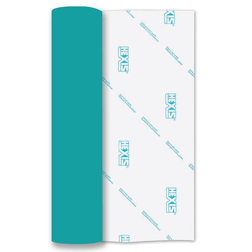 Blue Mirror Heat Transfer Flex 140mm Wide x 500mm Long