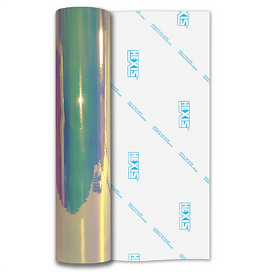 Blue Mystique Transparent Gloss Self Adhesive Vinyl