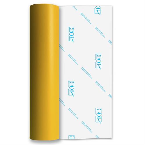 Deep Yellow Standard Removable Matt Self Adhesive Vinyl