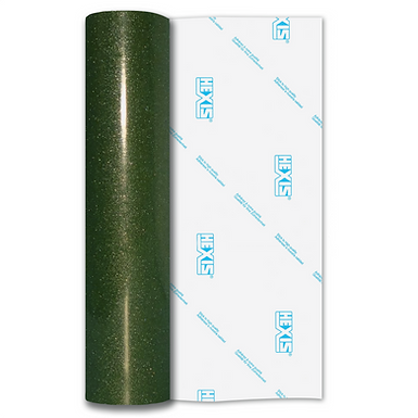 Ultra Glitter FX Green Gloss Self Adhesive Vinyl