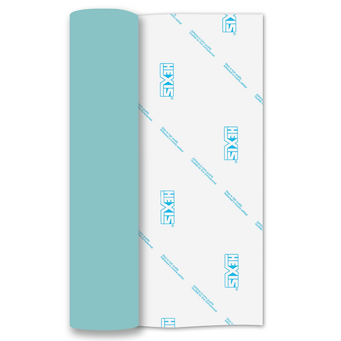Bright Blue Heat Transfer Flex 305mm Wide x 500mm Long