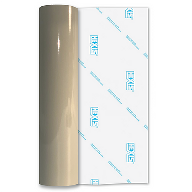 Beige Grey Premium Permanent Gloss Self Adhesive Vinyl