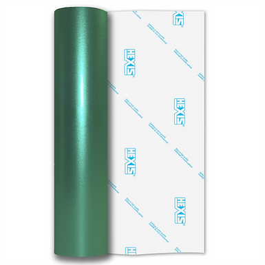 Teal Shimmer Metal Gloss Self Adhesive Vinyl