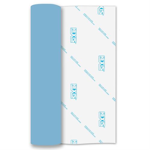 Sky Blue Heat Transfer Flex 305mm Wide x 500mm Long