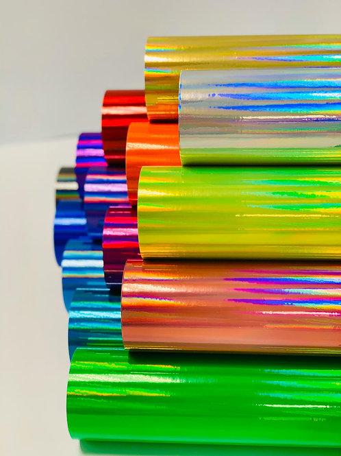 Rainbow Chrome Gloss Self Adhesive Vinyl Bundle