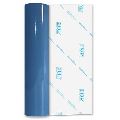 Montpellier Blue Premium Permanent Gloss Self Adhesive Vinyl