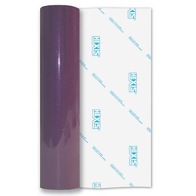 Purple Transparent Glitter Self Adhesive Vinyl
