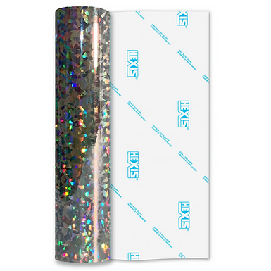 Confetti Holographic Double Sided Gloss Self Adhesive Vinyl