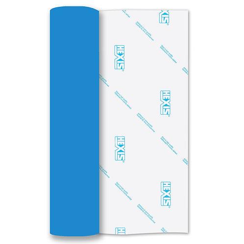 Olympic Blue Heat Transfer Flex 500mm x 1m