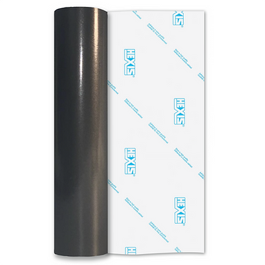 Charcoal Premium Permanent Gloss Self Adhesive Vinyl