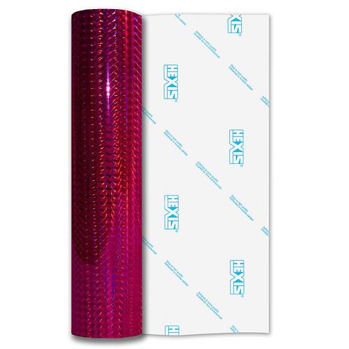 Raspberry Mosaic Gloss Self Adhesive Vinyl