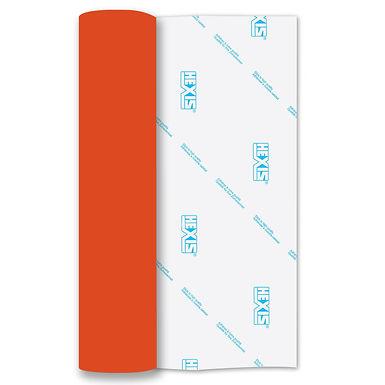 Neon Red RAPIDFLEX Heat Transfer Flex 500mm Wide x 1m Long