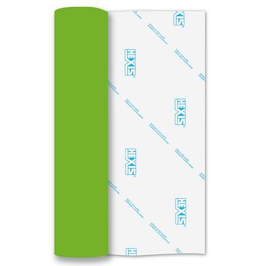 Apple Green Heat Transfer Flex 305mm Wide x 500mm Long