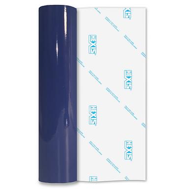 Reflex Blue Premium Permanent Gloss Self Adhesive Vinyl