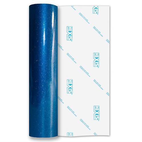 Ultra Glitter Blue Self Adhesive Vinyl 305mm x 5m