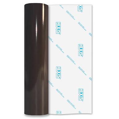 Brown PVC FREE Permanent Gloss Self Adhesive Vinyl