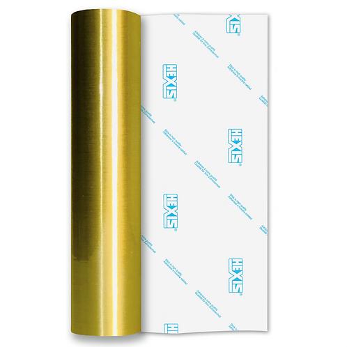 Gold Fine Brush Self Adhesive Vinyl