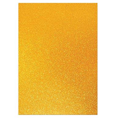 A4 Glitter Card Bronze