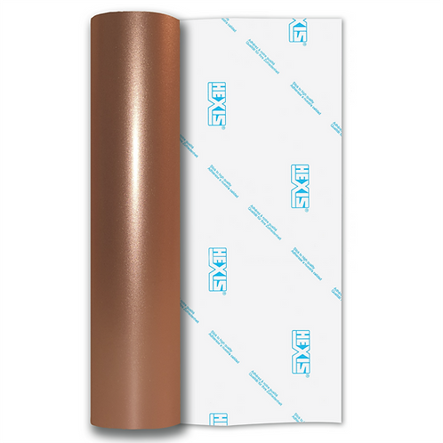 Rose Gold Shimmer Metal Gloss Self Adhesive Vinyl