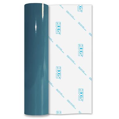 Turquoise Premium Permanent Gloss Self Adhesive Vinyl