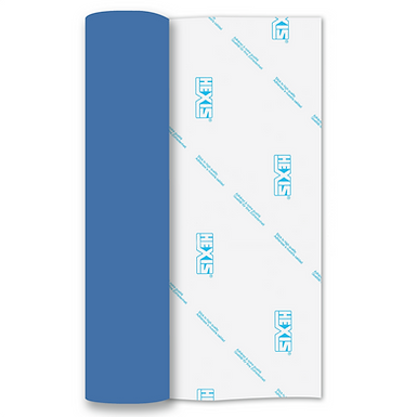 Blue Matt Removable Self Adhesive Vinyl Roll 305mm x 5m