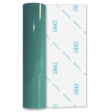 Dark Jade Premium Permanent Gloss Self Adhesive Vinyl