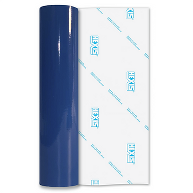 Curacao Blue Premium Permanent Gloss Self Adhesive Vinyl