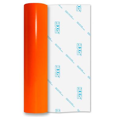 Neon Orange Gloss Self Adhesive Vinyl