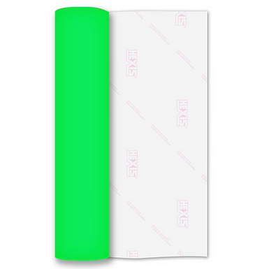 Neon Green Premium Flock HTV